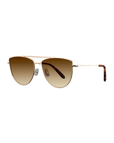 Zephyr Side-Shield Gradient Sunglasses