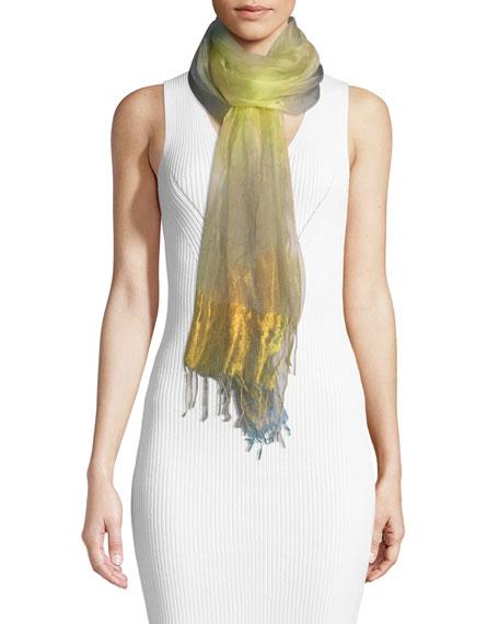 Subtle Fusion Organza Silk Stole