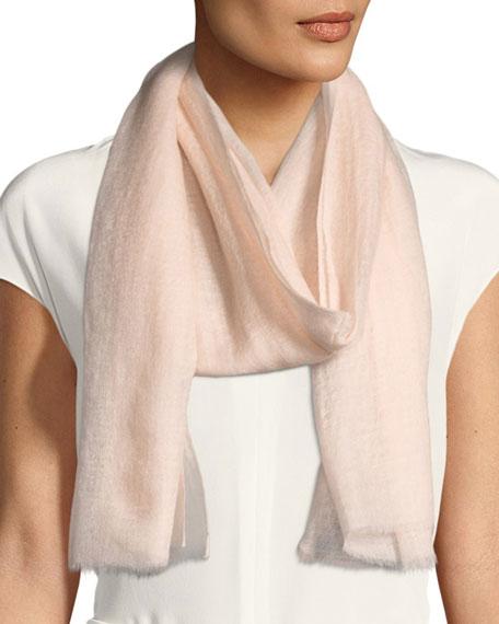 Sparge Cashmere Accent Desire Stole, Light Pink