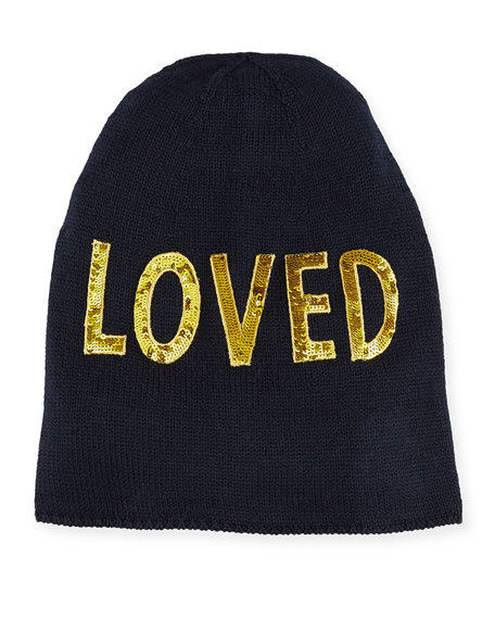 Loved Knit Beanie Hat