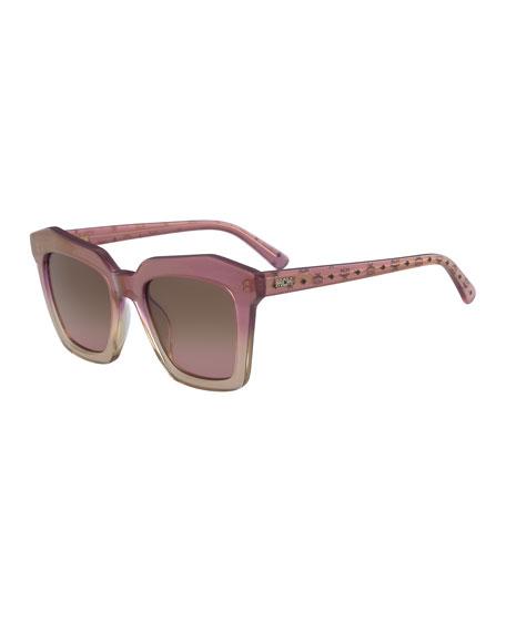 Square Zyl® Sunglasses w/ Logo Arms