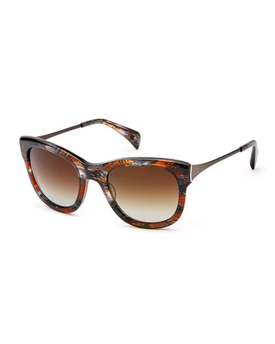 Billingsley Acetate & Titanium Polarized Sunglasses