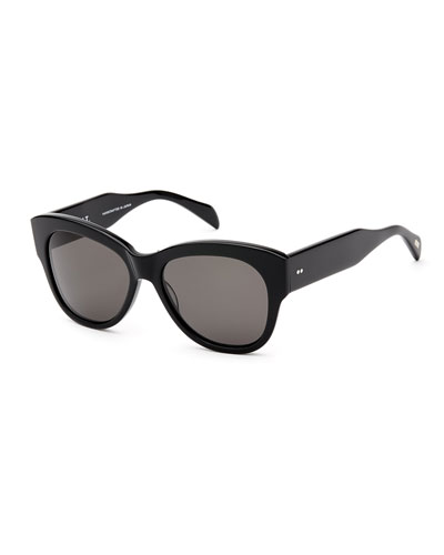 Hammen Polarized Acetate Sunglasses