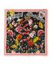 Garden Silk Fringe Shawl
