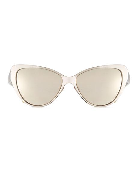 Capri Printed Cat-Eye Sunglasses
