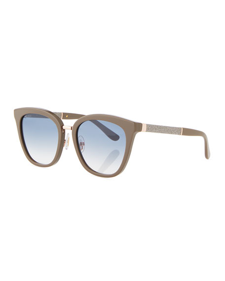 Fabry Square Metallic Sunglasses