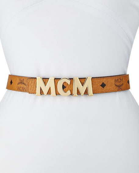 Logo-Buckle Visetos Belt