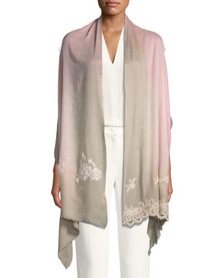 Wool-Silk Lace Scarf