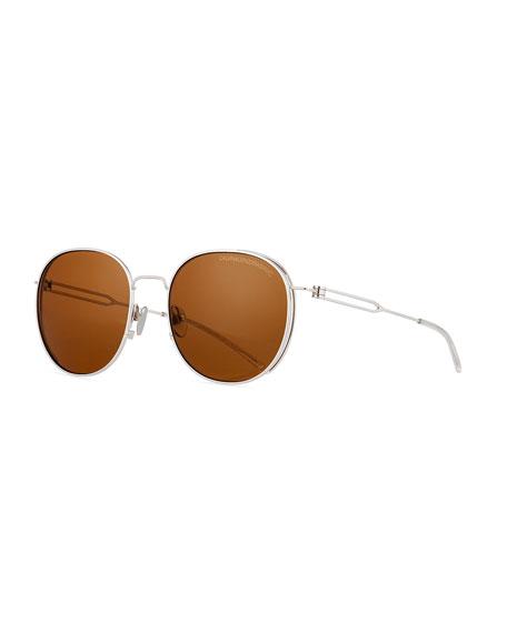 Round Titanium Sunglasses