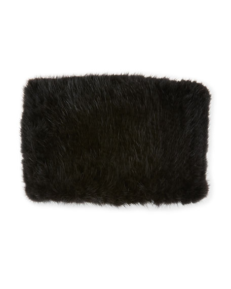 Knit Mink Fur Headband