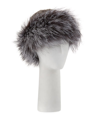 Knitted Fur Hat