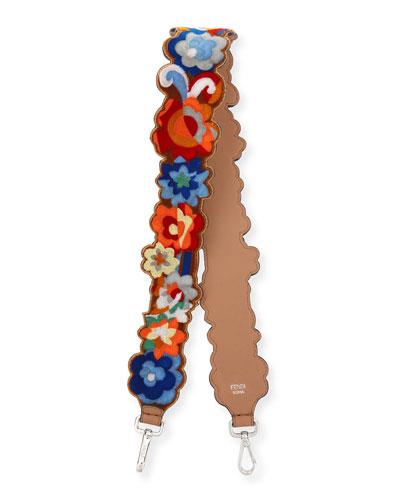 Strap You Floral Terry Shoulder Strap for Handbag