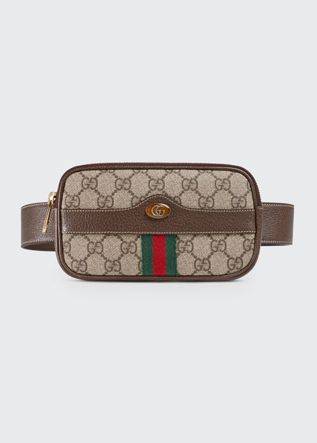 4bc05665a323 Gucci Ophidia GG Supreme Canvas Belt Bag