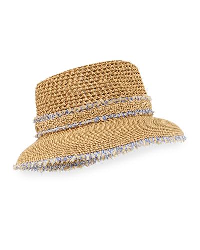 Lulu Woven Squishee Bucket Hat