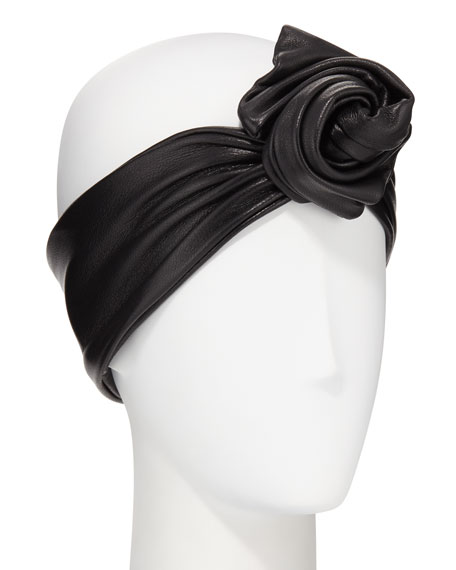 Glemby Leather Head Wrap