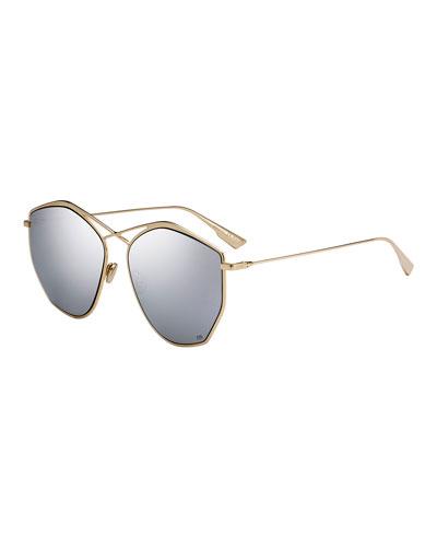 Stell4 Mirrored Crisscross Sunglasses