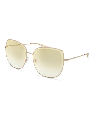 Espirutu Mirrored Butterfly Sunglasses