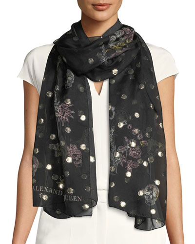 Garden on Meta Scarf