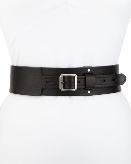 Field Leather Waist Belt