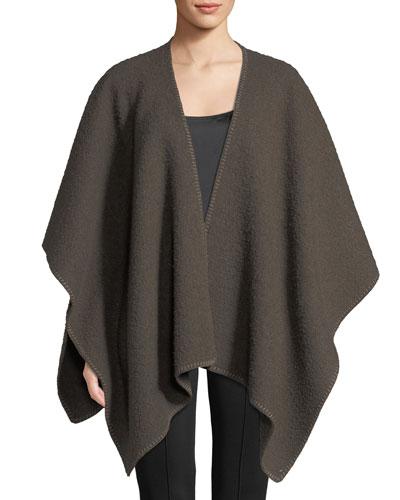 Dark Dust Wool Cape