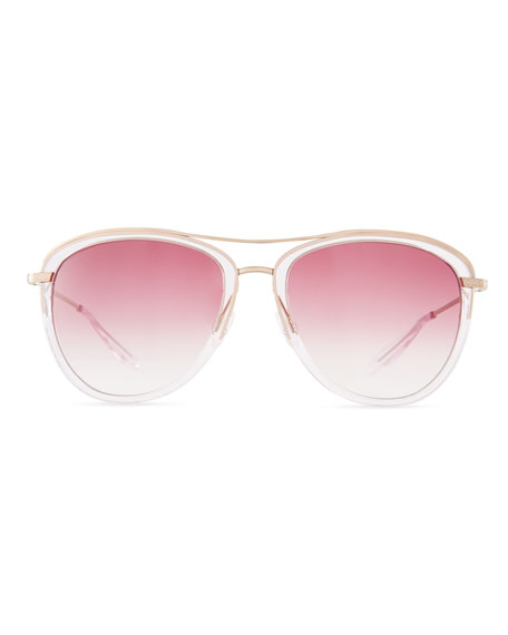 Aviatress Titanium Aviator Sunglasses