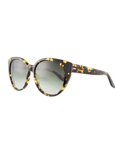 Kuuipo Butterfly Gradient Sunglasses, Multi Pattern