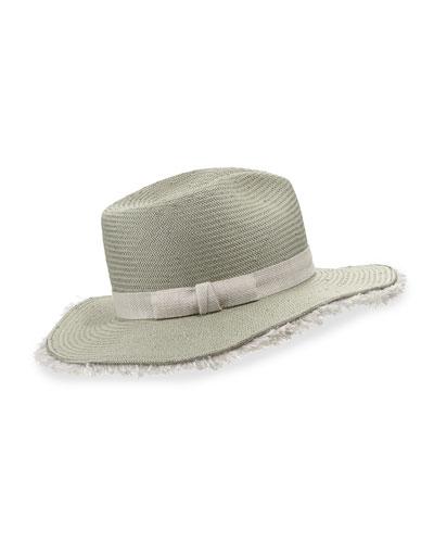 Fringy Floppy Beach Fedora Hat