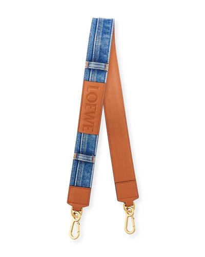 Denim Shoulder Strap for Handbag