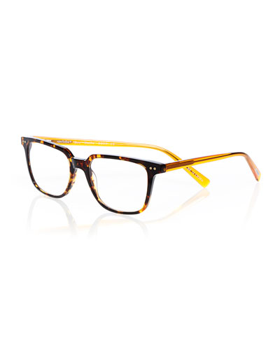 C Suite Square Acetate Reading Glasses