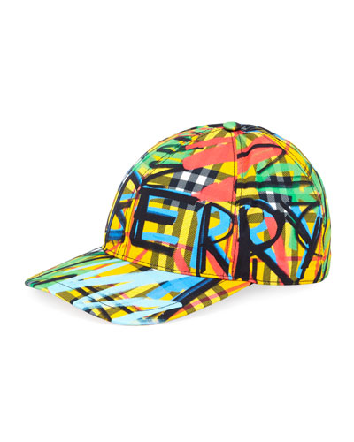 Fonts Graffiti Logo Cap