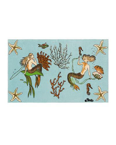 x Paula's Ibiza Mermaid Towel
