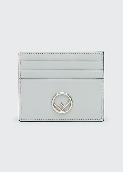 Leather Logo Card Case