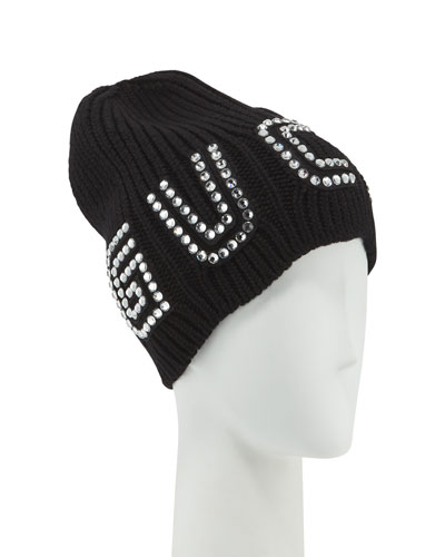 Game Guccy Rib-Knit Wool Beanie Hat