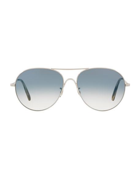 Rockmore Photochromic Metal Aviator Sunglasses