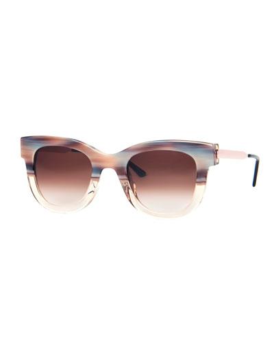 Sexxxy Acetate & Metal Polarized Sunglasses