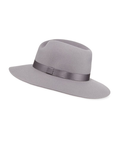 Zoe Wool Fedora Hat