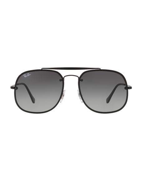 e28b41c75e Ray-Ban General Blaze Lens-Over-Frame Square Sunglasses