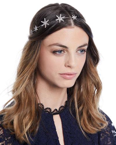 Callista Swarovski Crystal Star Bandeaux Headband