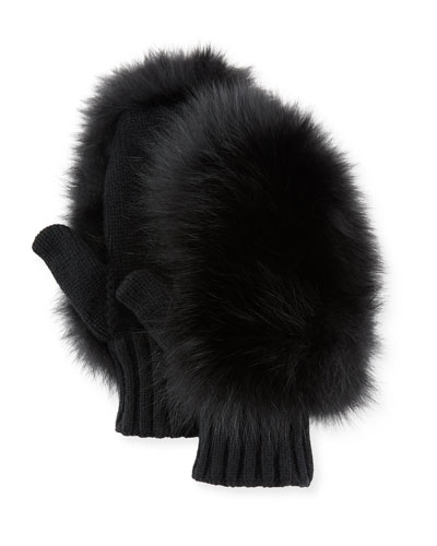 Moncler Genius Guanti Fur Gloves