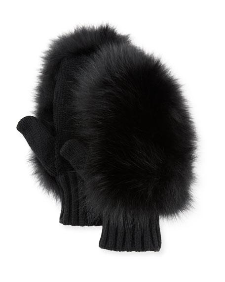 Moncler Genius Guanti Fur Gloves