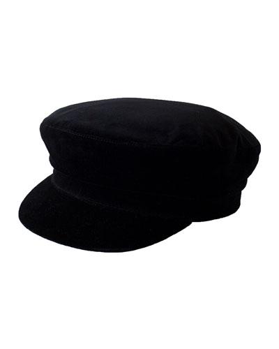 Jimi Suede Newsboy Hat