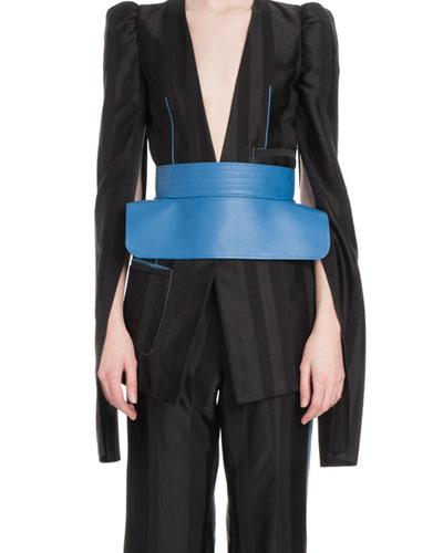 Napa Leather Obi Belt
