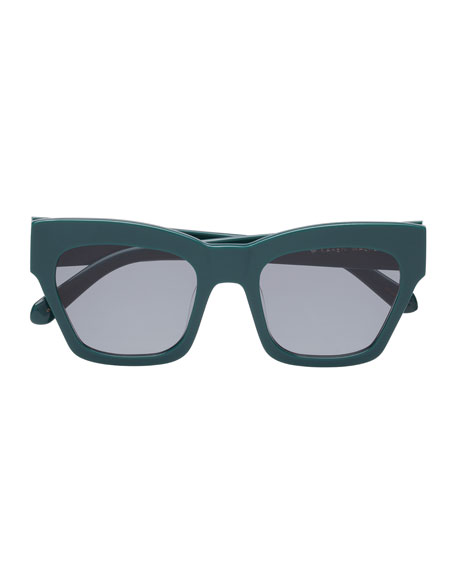 0aefe1325d Karen Walker Treasure Monochromatic Rectangle Sunglasses. Treasure  Monochromatic Rectangle Sunglasses. Treasure Monochromatic Rectangle  Sunglasses