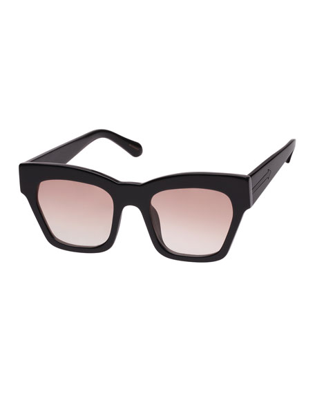 Karen Walker TREASURE GRADIENT RECTANGLE SUNGLASSES