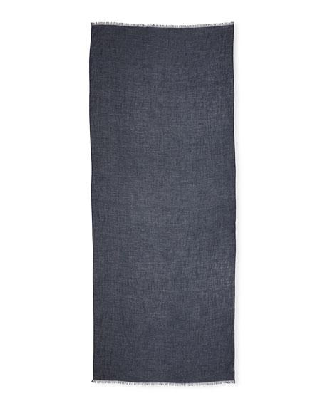 Lightweight Shimmer Cashmere Scarf