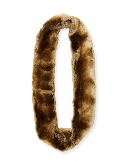 Oversized Eternity Faux-Fur Scarf