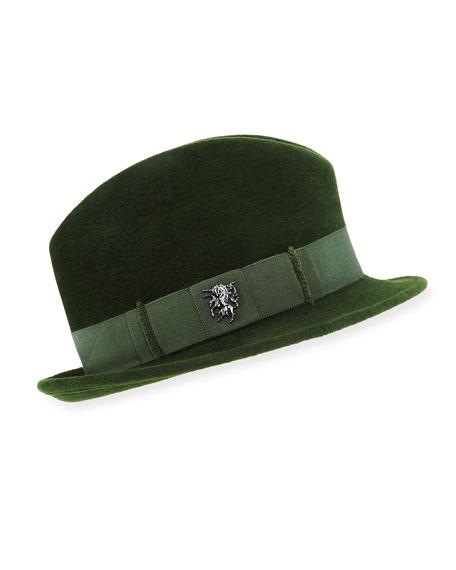 VELOUR TOWN HAT