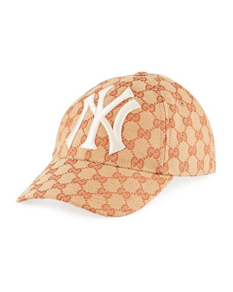Gucci NY Yankees GG Supreme Baseball Hat 1c68903edc7