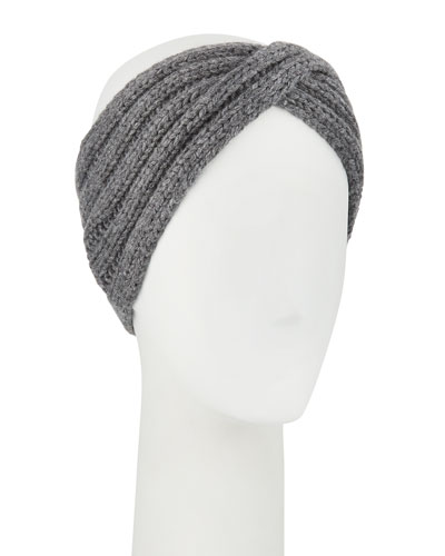 Knit Ear-Warmer Headband