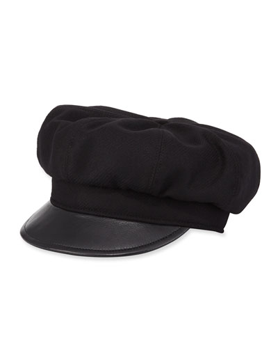 Carnaby Street Wool Newsboy Hat